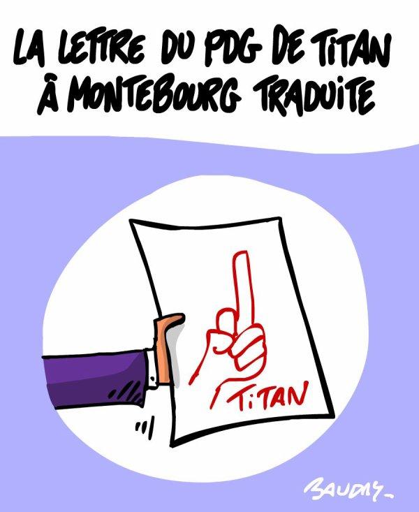 """Spécial """"Les dessins d'actualité de l'illustrateur Hervé Baudry"""" - Dessin n° 4/5  !..."""