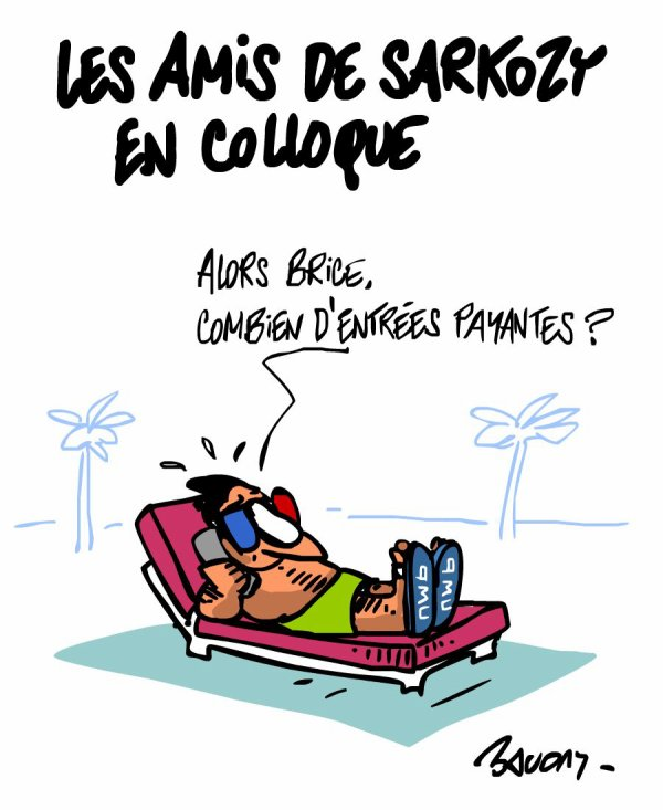 """Spécial """"Les dessins d'actualité de l'illustrateur Hervé Baudry"""" - Dessin n° 3/5  !..."""