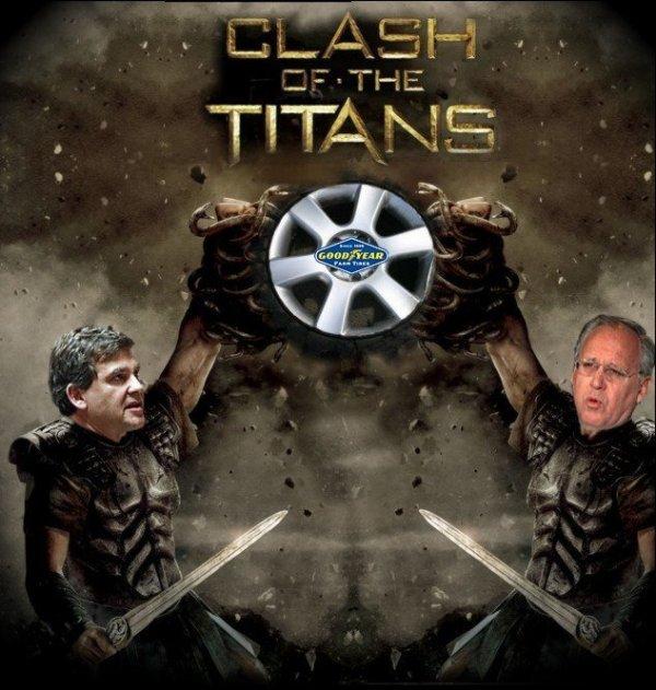 """Spécial """"CLASh OF THE TITANS """"- Affiche n° 2/2  !..."""