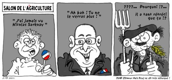 """Spécial """"HOLLANDE AU SALON DE L'AGRICULTURE"""" !..."""