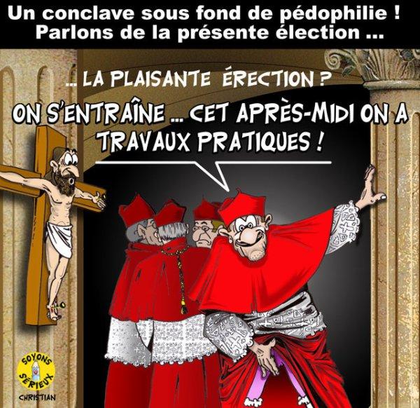 Un conclave sous fond de pédophilie !...