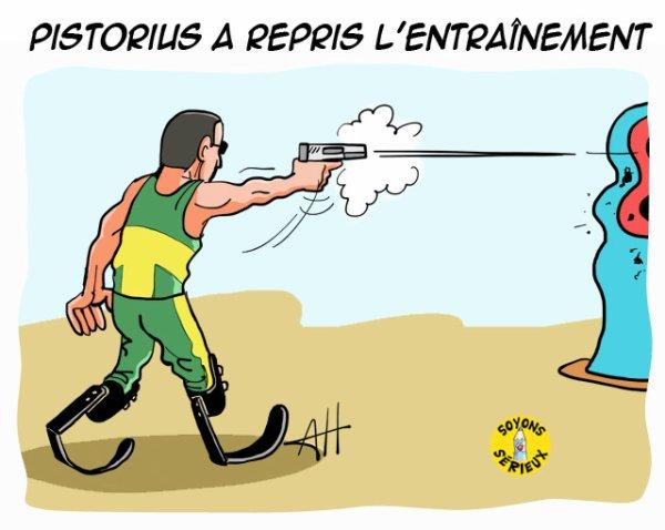 Pistorius a repris l'entraînement !...
