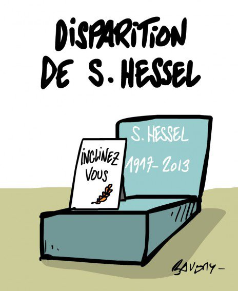 "Spécial ""HOMMAGE À STÉPHANE HESSEL"" - Image n° 3/3 !..."