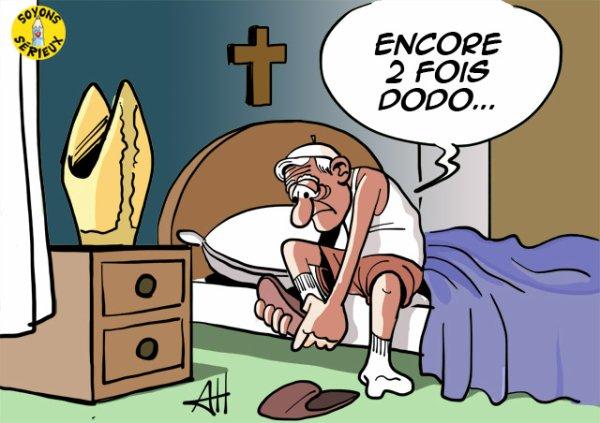 Benoit XVI, jour J-2 !...