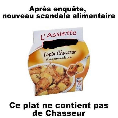 """Spécial """"LE SCANDALE DE LA VIANDE DE CHEVAL DANS LES ALIMENTS"""" - Image n° 1/3 !..."""