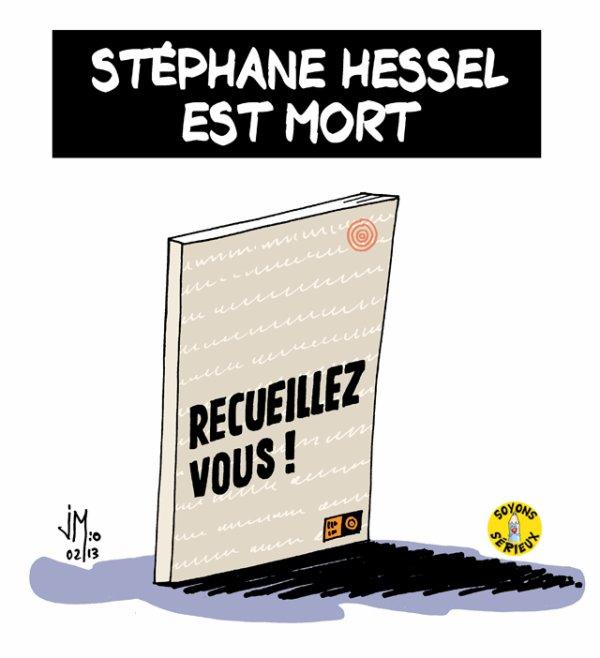 STEPHANE HESSEL EST MORT !...