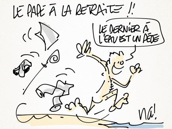 """Spécial """"LE PAPE BENOÎT XVI SOUPAPES S'EN VA"""" !..."""