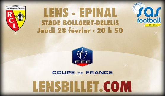 "Spécial ""FOOTBALL - COUPE DE FRANCE - LENS VS ÉPINAL"" - 1/3 !..."