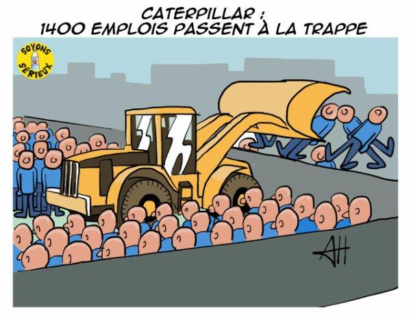 Belgique : Caterpillar va se séparer de 1.400 personnes !...