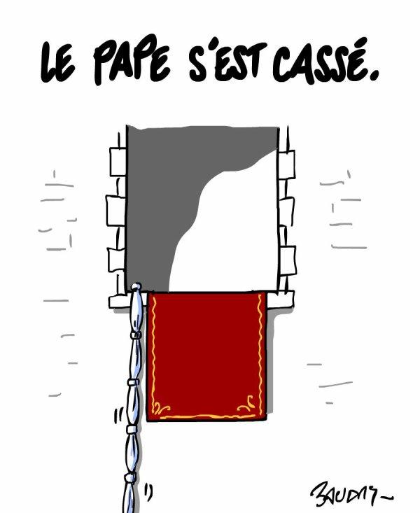 """Spécial """"Les dessins d'actualité de l'illustrateur Hervé Baudry"""" - Dessin n° 2/2 !..."""
