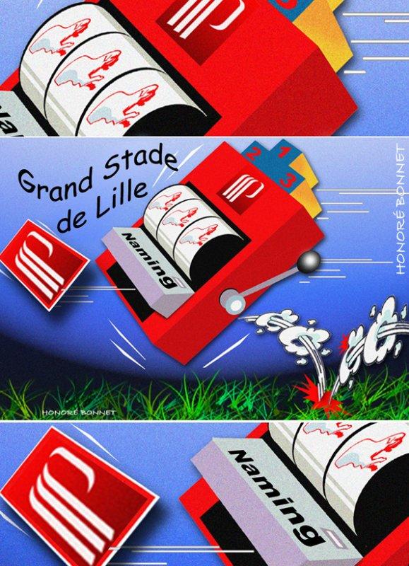 "Spécial ""NAMING Vélodrome OM/Grand Stade Lille"" Image n° 1/3 !..."