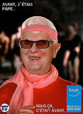 PEOPLE : BENOIT XVI EST REDEVENU JOSEPH RATZINGER !...