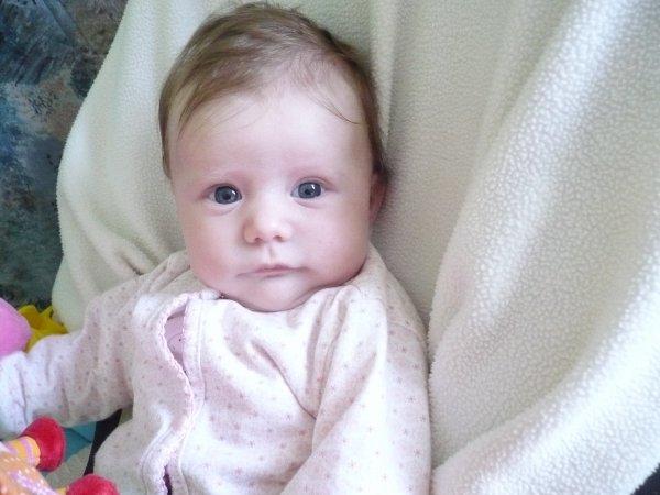 noéline mon bebe tu change tout les jour tu devien plus belle je t'aime le 28/02/2011
