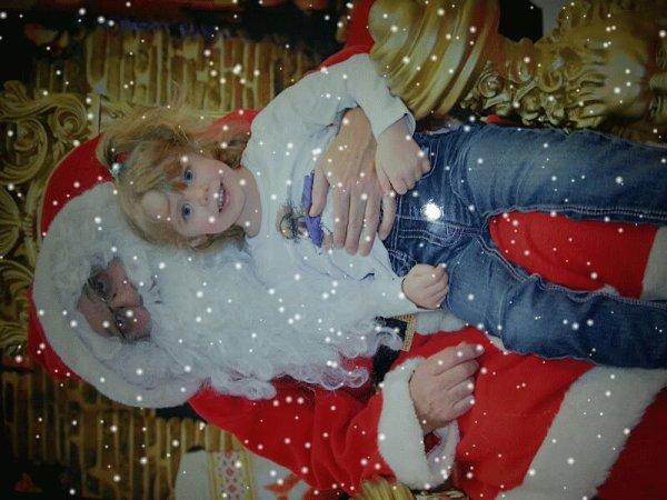 14 décembre avec le père Noël au cora a st avold