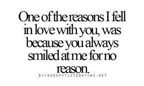 Why love? ...