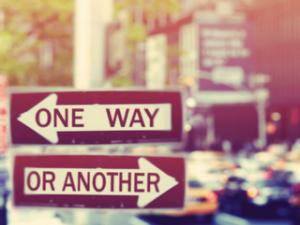 Aujourd'hui comme demain, le choix peut s'imposer ... rien n'est éternel