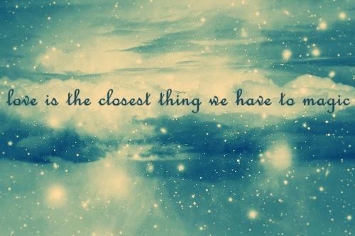 Au première amour la magie fait qu'il ne semble pas pouvoir prendre fin ...