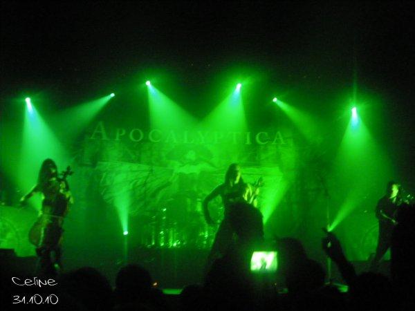 Live Report: Concert d'Apocalyptica le 31 Octobre 2010