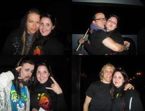 Concert d'Apocalyptica avec Dagoba à Clermont (11.04.11)