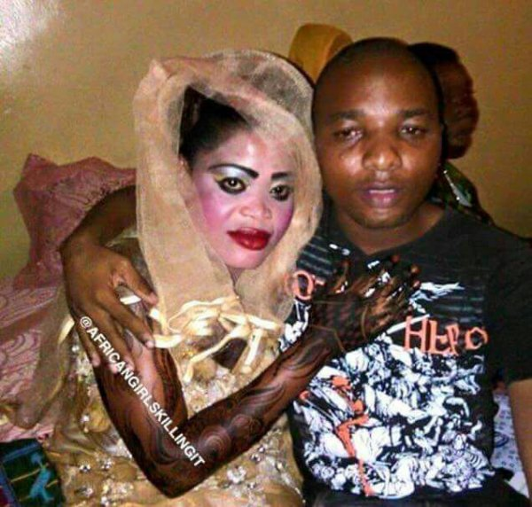 Maquillage extraterrestre