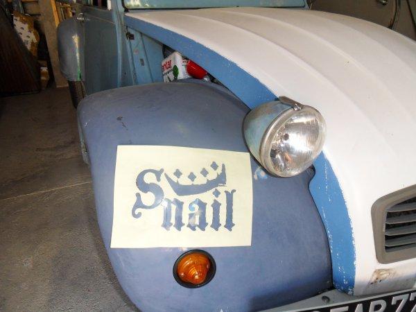 Snail pour Choupette !
