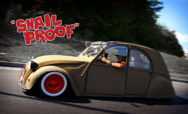 2 CV SNAIL PROOF
