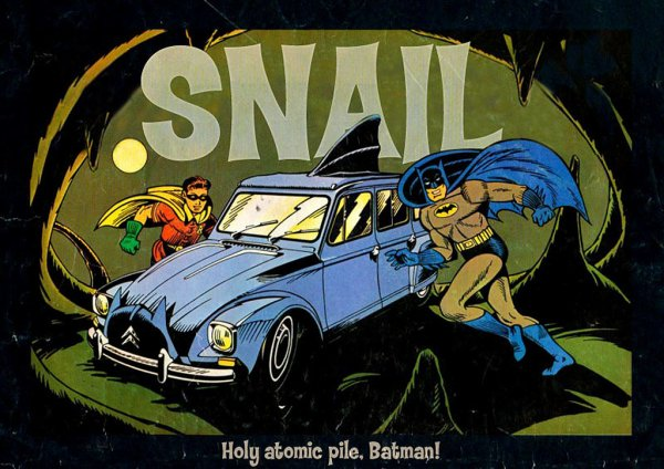 BATMOBILE SNAIL ...