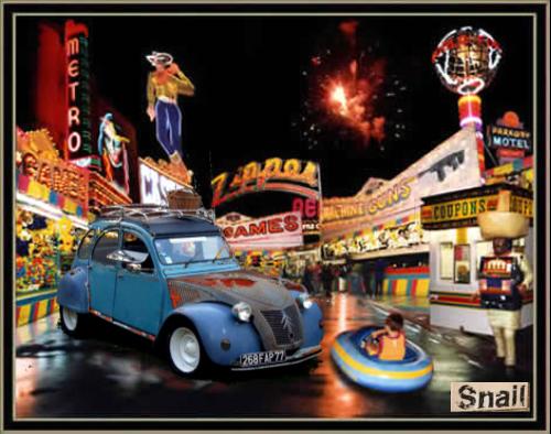 Choupette Snail Vegas