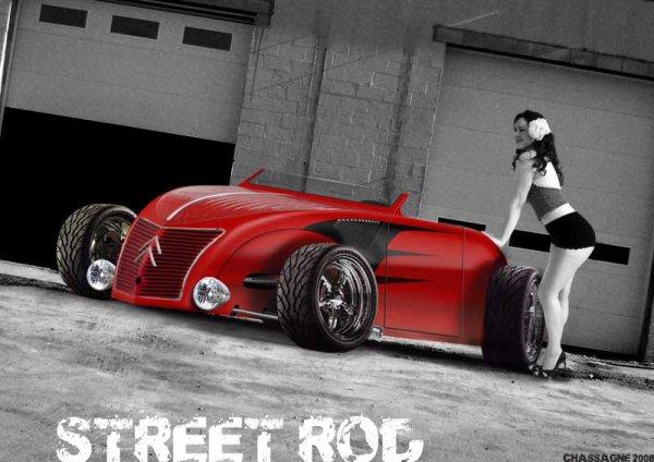L'inspiration de mon projet Radical 2 CV Rod ...