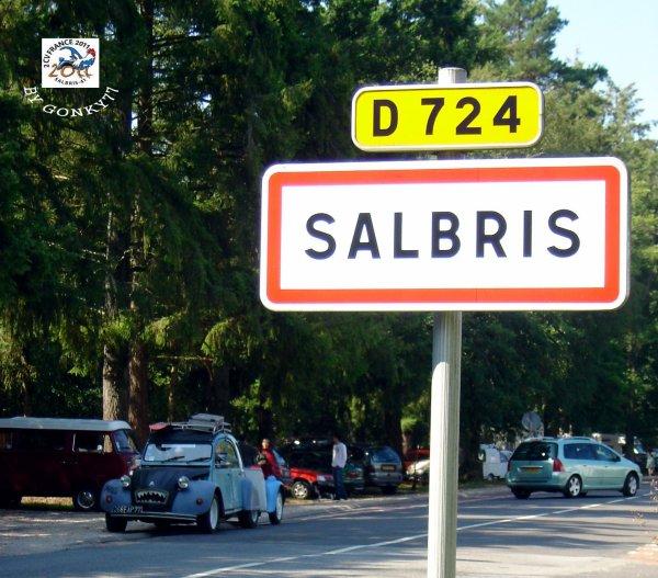 çà y est on est à Salbris !
