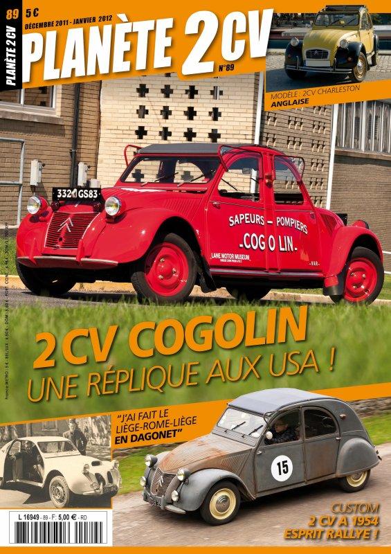 Planète 2 CV 89 : 2 CV Cogolin, la réplique américaine