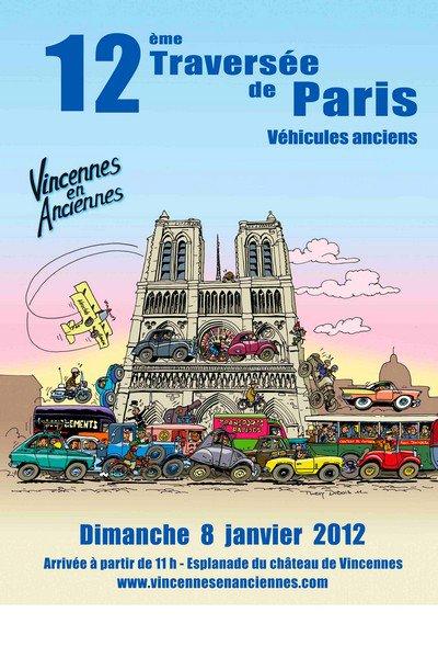 LA TRAVERSEE DE PARIS 2012
