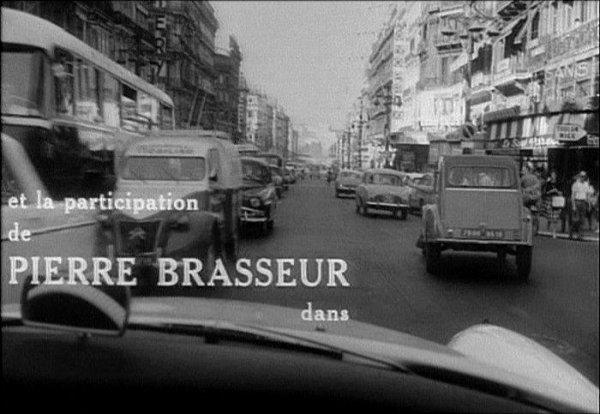 Séquence film : L'abominable homme des douanes,1963