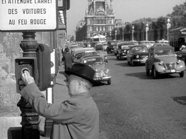 Séquence film : A pied, à cheval et en voiture,1957