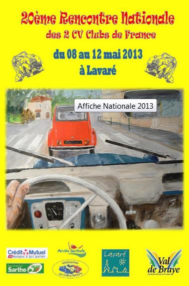 20 ème rencontre Nationale 2 CV