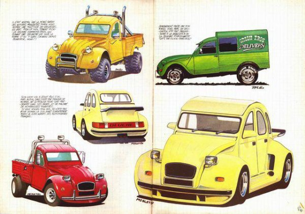 2 CV CUSTOMS