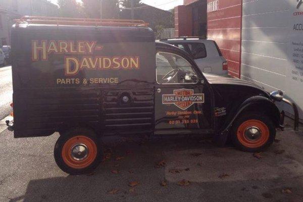 2 CV - HARLEY