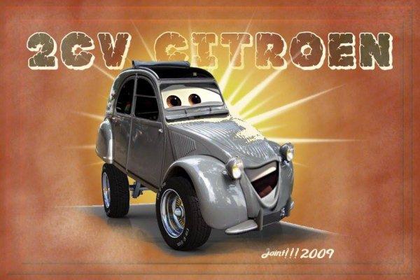 2 CV Cars