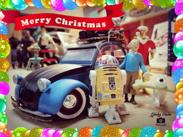 Joyeux Noel en Citroën 2CV 😄🤘🔥😄🔥