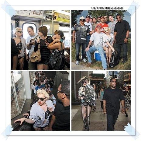 иєω'ѕ gαgα ! ♥ - Un sosie de Lady GaGa dans les rues de Chicago.