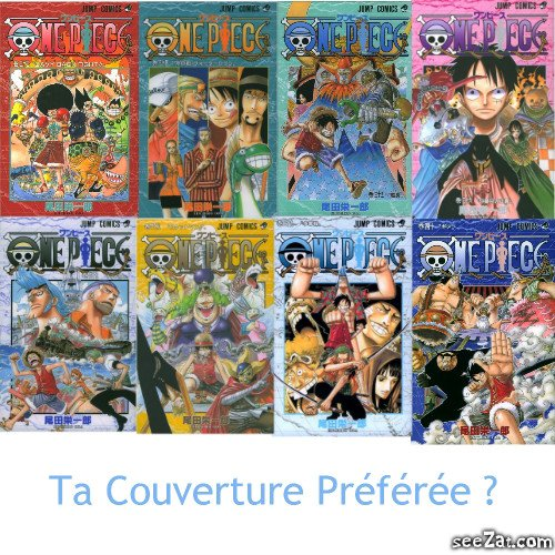 OnePieceTheReference               Couvertures Tomes 33 à 40 !