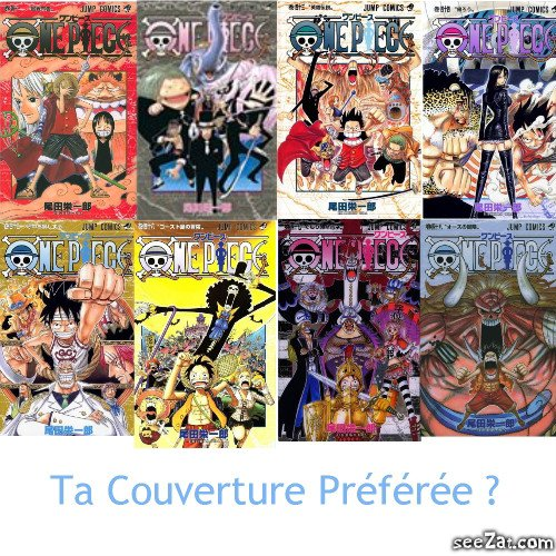 OnePieceTheReference               Couvertures Tomes 41 à 48 !
