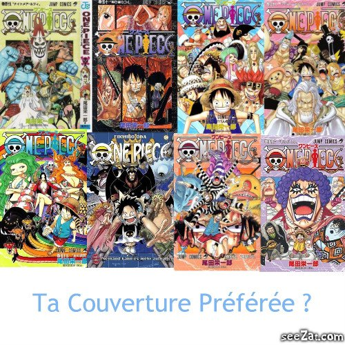 OnePieceTheReference               Couvertures Tomes 49 à 56 !