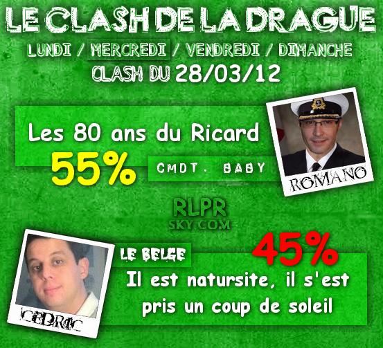Le Clash de la Drague du 28 Mars 2012 !