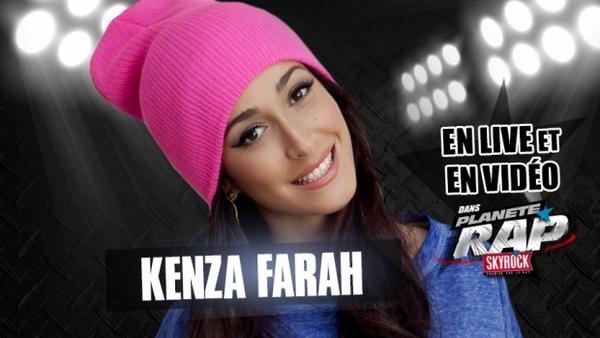 Planète Rap en live vidéo avec KENZA FARAH !
