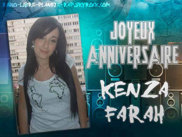 JOYEUX ANNIVERSAIRE KENZA FARAH (@KarsmatikKenza) !