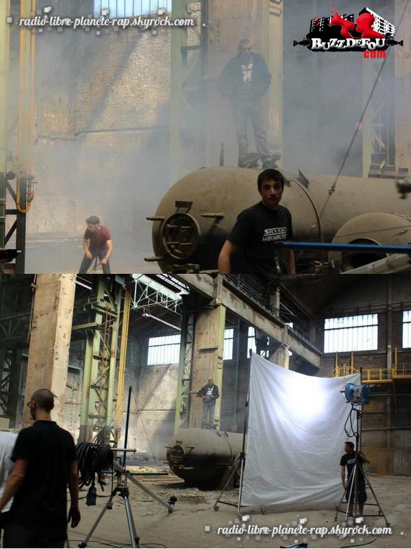Sur le tournage du prochain clip de Kamelancien !
