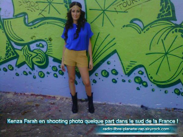 Vidéo de Kenza Farah en studio pour « 4 Love » ! + BONUS