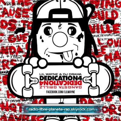 La pochette de « Dedication 4 », le prochain album de Lil Wayne !