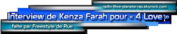 Kenza Farah en interview pour Freestyle de Rue !